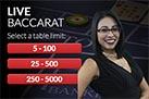 Play Live Baccarat Betonline