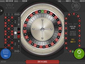 felt gaming double ball roulette