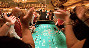 land based craps