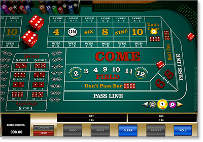 Microgaming instant play online craps @ All Slots Casino