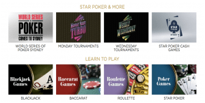 casino games at star sydney