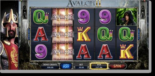 Avalon II Online Pokies