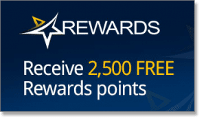 Royal Vegas Casino 2,500 rewards Points