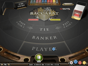 netent baccarat how to play