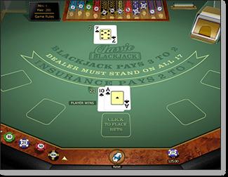 Microgaming Classic Blackjack Gold Series