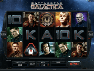 battlestar galactica pokie