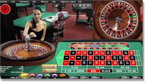 Live Dealer Online Roulette