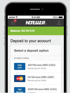 Neteller mobile casino deposits