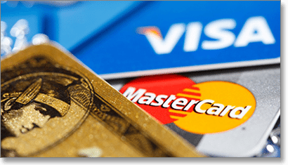 MasterCard and Visa Deposits and Withdrawals