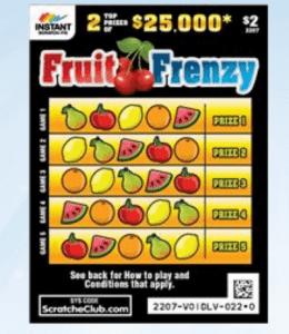 $2 scratch cards