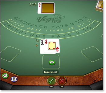 Microgaming Vegas Strip Blackjack Gold Series