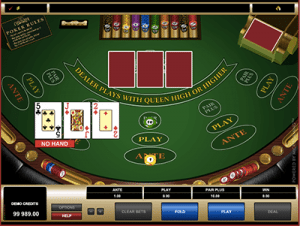 3 Card Poker bonus bet