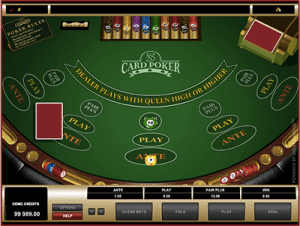 3 card poker royal vegas
