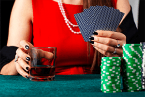 Gambling and drinking
