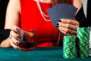 Gambling and drinking