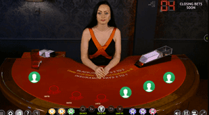 live dealer blackjack at All Slots online casino