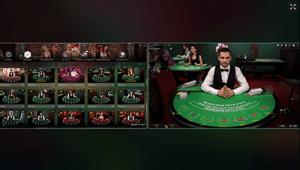 multiple blackjack tables live at All Slots online casino