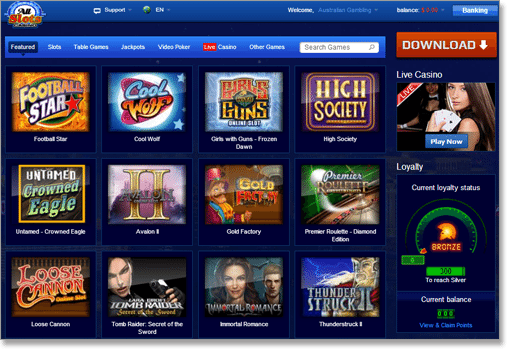 All Slots Web-Browser Casino