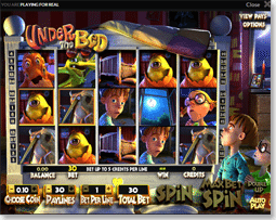 Under the Bed Guts Online Casino - Under the Bed