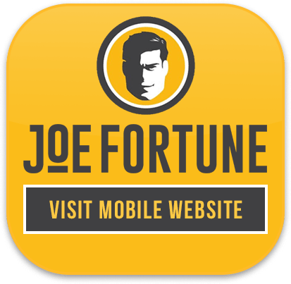 Joe Fortune mobile casino iOS and Android