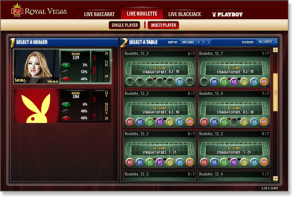 Royal Vegas Live Dealer Casino