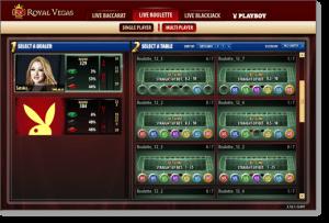 Royal Vegas Live Dealer Casino