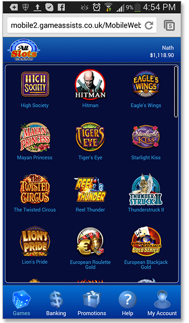 All Slots Instant Play Mobile