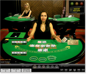 Evolution Gaming Live Dealer Casino Hold'em