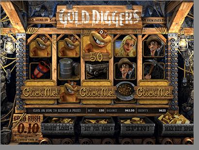 BetSoft Gold Digger 3D Slots