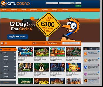 Emu Casino 2.0