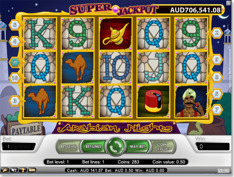 Play Arabian Nights slot