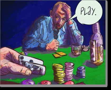 Angry Gambler