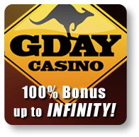 G'Day Casino 3D Blackjack