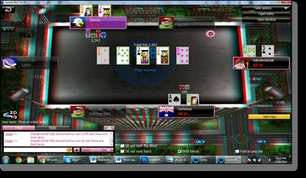 888 Poker in 3D
