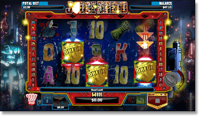 Judge Dredd Free Spins