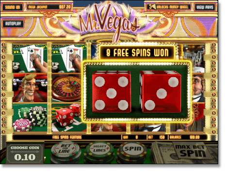 Mr Vegas Online Pokie
