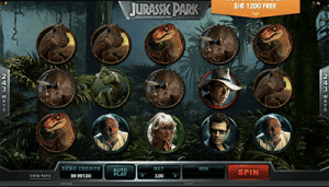 microgaming's jurassic park