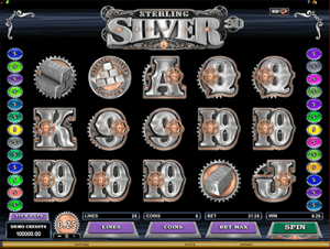 Sterling Silver by Microgaming
