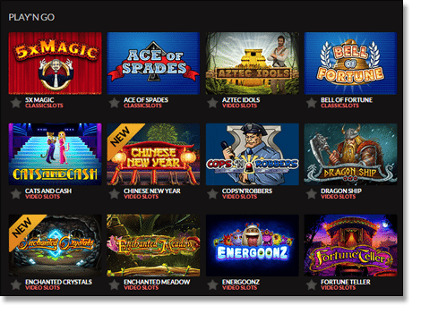 play n go online casinos
