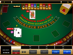 microgaming blackjack soft 14