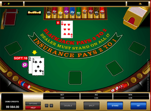 microgaming blackjack soft 16