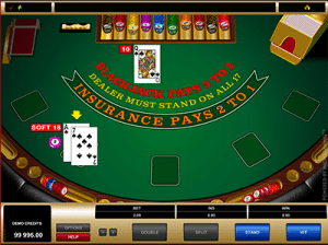 microgaming blackjack soft 18