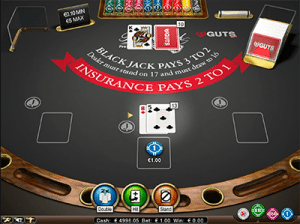 Hard 13 on NetEnts Blackjack Pro