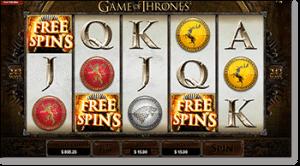 Game of Thrones Online Slot - Free Spins & Scatter Bonus