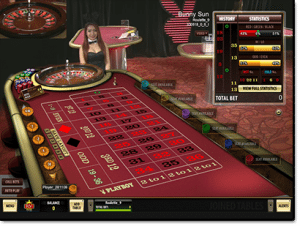 Playboy Live Dealer Roulette