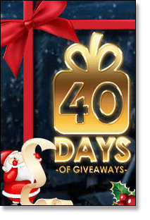 40 Days of Giveaways