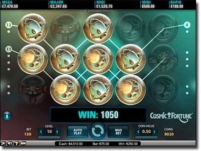 Cosmic Fortune Progressive Jackpot Slot