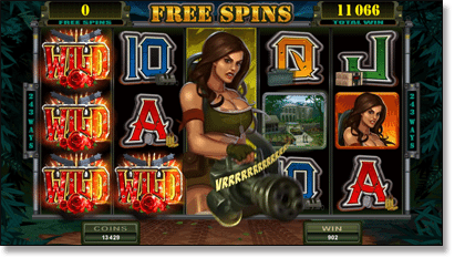 Girls with Guns Free Spins