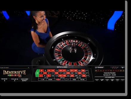 Immersive 3D Live Dealer Roulette