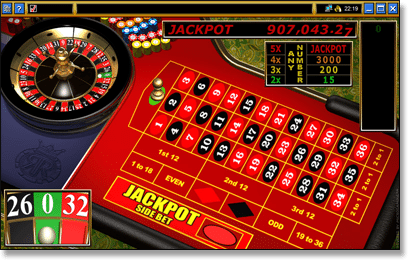 Roulette Royale Progressive Jackpot Game